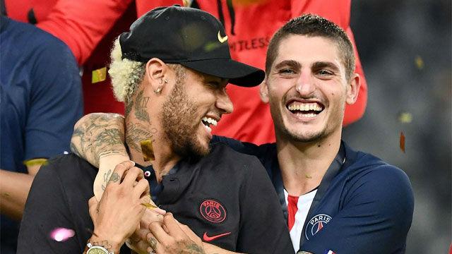 La broma de Verratti sobre el caso Neymar