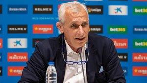 Carlos García Pont considera que el Espanyol aún puede traer algún refuerzo más.
