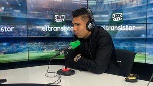 Casemiro, durante su entrevista en El Transistor, de Onda Cero