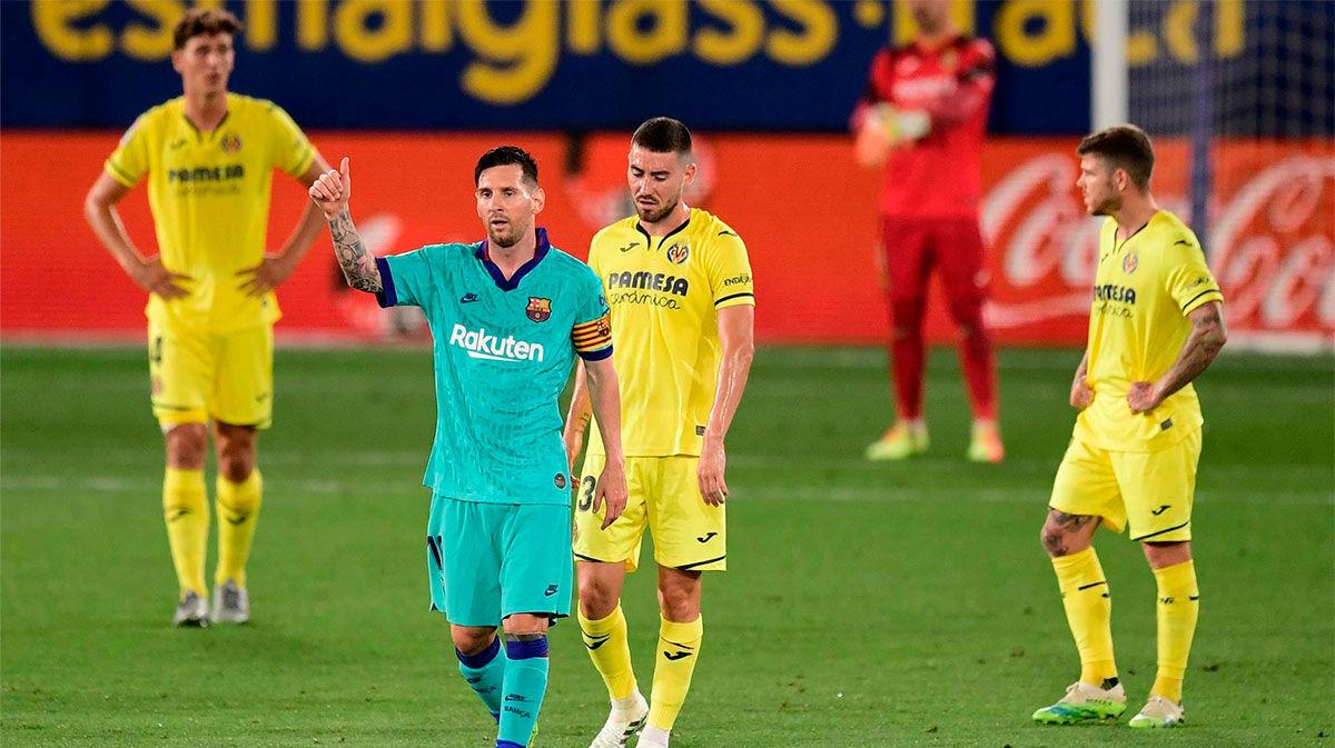 Como siempre, Messi volvió a ser clave para el Barça