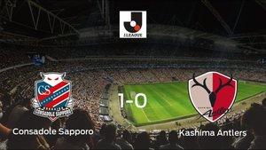 El Consadole Sapporo gana 1-0 al Kashima Antlers y se lleva los tres puntos