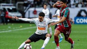 Corinthians y Fluminense igualan en la ida de los cuartos de final de la Copa Sudamericana