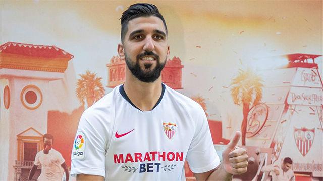 Dabbur, presentado con el Sevilla: Ha sido una larga espera