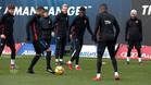 Dembélé completa el entrenamiento con el grupo