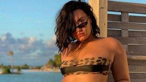 Demi Lovato revoluciona Instagram con un posado en topless | Vos-La Voz