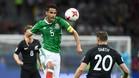 Diego Reyes, en un partido con México en la Copa Confederaciones