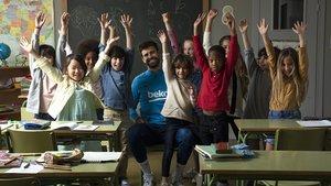El embajador global de Eat Like A Pro, Gerard Piqué, sorprendió a un grupo de alumnos