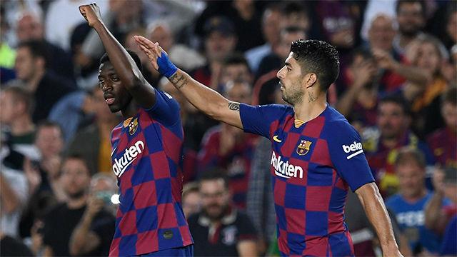 Encara, recorta y dispara: Dembélé aprovechó la titularidad y sentenció al Sevilla