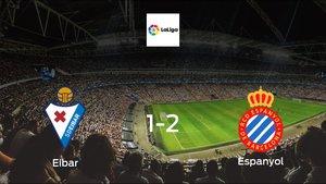 Espanyol cruise to a 1-2 win over Eibar at Municipal de Ipurua