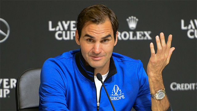 Federer pasa de Gerard Piqué y su Davis: No le conozco