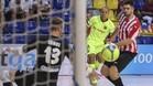 Ferrao colaboró con un gol al triunfo azulgrana