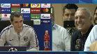 Hristo Stoichkov protagonizó el momento más cómico de la rueda de prensa de Ernesto Valverde. El búlgaro se ofreció al técnico como sustituto de Leo Messi y Valverde no dudó en contestar