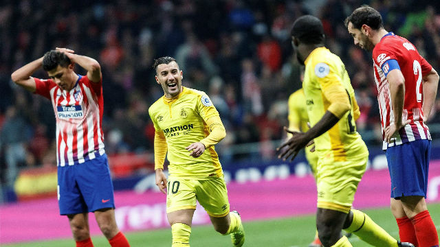 Copa del Rey: Atletico eliminated by Girona in last 16
