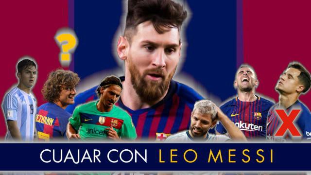 Griezmann no consigue conectar con Messi