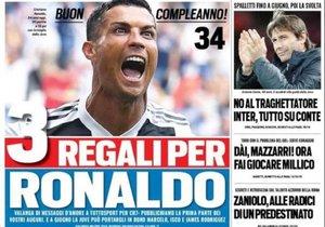 El Triple Regalo De Cumpleanos De La Juve A Cristiano Ronaldo