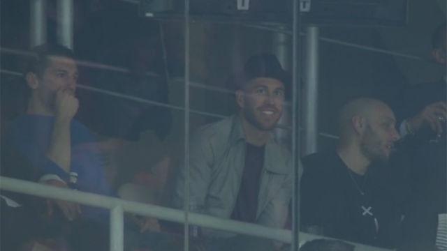 LACHAMPIONS | Real Madrid - Juventus (1-3): Ramos se las prometía muy felices desde la grada