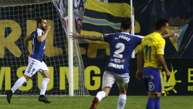 LALIGA 123   Cádiz - Tenerife (1-1)