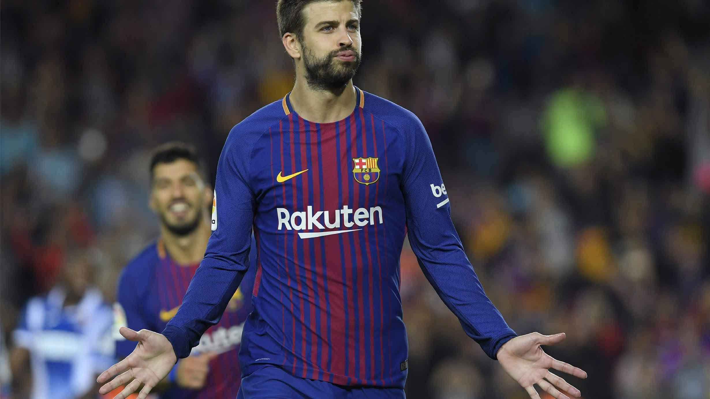 LALIGA | Barça-Espanyol (5-0): El gol de Piqué que puso el 4-0