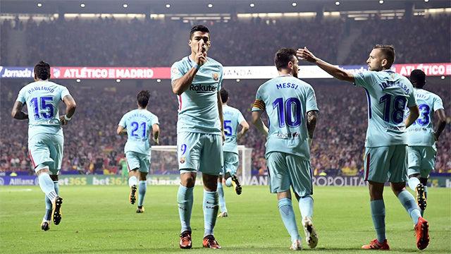 LALIGA FCB | Atlético Madrid - FC Barcelona (1-1)