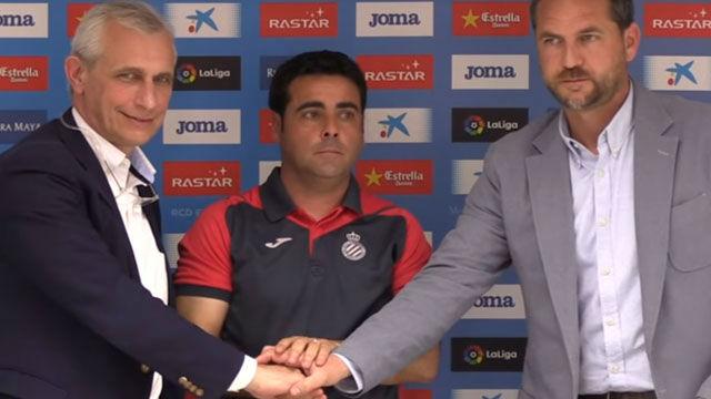 Las primeras palabras de Gallego como técnico del Espanyol