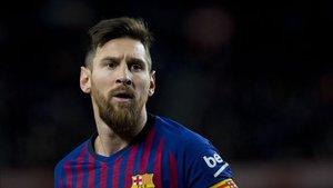 Leo Messi ha liderado al FC Barcelona contra el Valencia