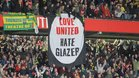 Los Glazer no son bien vistos por buena parte de la afición del United