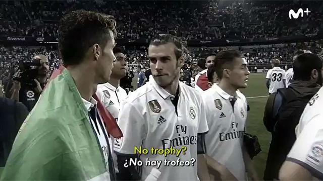 Los jugadores del Madrid no entendían que no hubiera trofeo de Liga