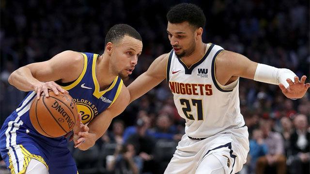 Los Warriors hacen historia tras apalizar a los Nuggets desde el primer cuarto