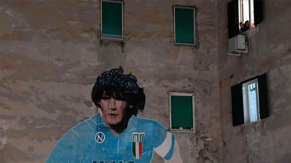 Luces y sombras, el recuerdo de Diego en la voz de Ciro Ferrara