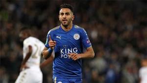 Mahrez interesa a varios clubes europeos