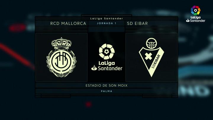 El Mallorca vuelve a primera venciendo al Eibar