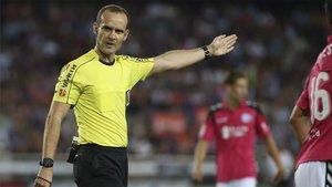 Melero López arbitrará al Barça en León