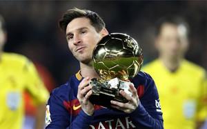 Messi optará a su sexto Balón de Oro