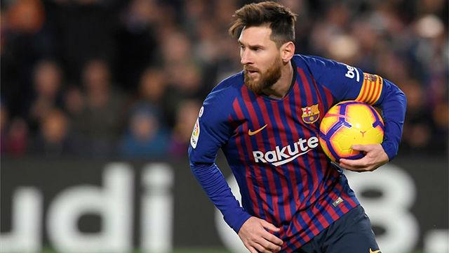 Messi sale de inicio frente al Athletic