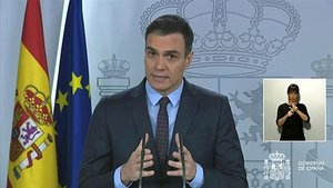 Nueva rueda de prensa de Pedro Sánchez
