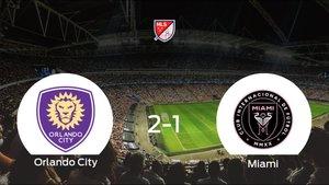 El Orlando City gana 2-1 frente al Inter de Miami