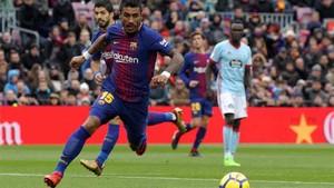 Paulinho se ha hecho con un hueco en el Barcelona