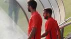 Piqué y Jordi Alba siguen lesionados y no estarán en Sevilla con el Barça