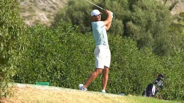 Rafa Nadal participa en el campeonato de Baleares de golf absoluto