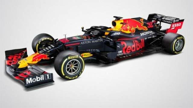 Red Bull presenta su flamante monoplaza