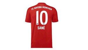 Sané llevará el dorsal 10 en el Bayern Múnich