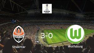 El Shakhtar Donetsk golea al VfL Wolfsburg en el encuentro de vuelta de octavos de final (3-0)