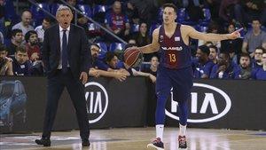 Todo va encaminado a que Pesic y Heurtel continúen juntos en el Barça 2019-20