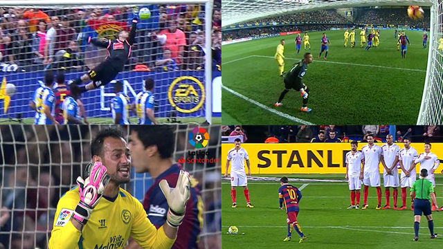 Todos los goles de falta de Messi en LaLiga