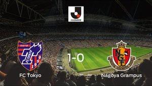 El FC Tokyo vence 1-0 en su estadio ante el Nagoya Grampus