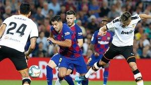 El Valencia-Barça. el 25 de enero a las 16.00