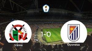El Varea consigue la victoria ante el Oyonesa en el segundo tiempo (1-0)