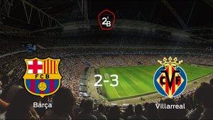 El Villarreal B suma tres puntos a su casillero frente al Barcelona B (2-3)