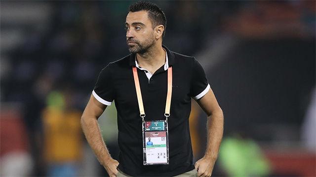Xavi: Con el Barcelona y España lo normal era ser favorito