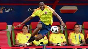 Yerry Mina está concentrado con Colombia